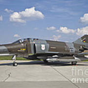 German Air Force F-4f Phantom II Poster