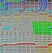 German Cityscape Poster