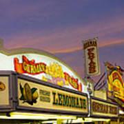German Fries Topsfield Fair Poster