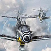 German Messerschmitt 109 Poster