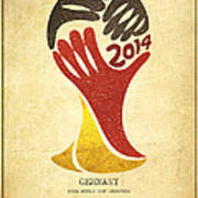 Germany World Cup Champion Poster