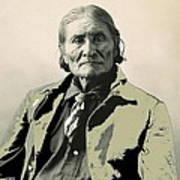 Geronimo As Photographed By A. Rinehart Omaha Nebrasks  1898-2013.  Poster