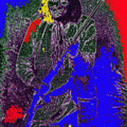 Geronimo Film Homage  Stylized Ben Wittick Photo Poster
