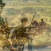 Gettysburg Anniversary 150 Years Poster