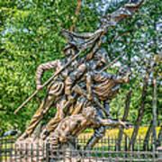 Gettysburg Battleground Memorial Poster