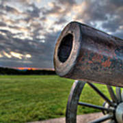 Gettysburg Canon Closeup Poster by Andres Leon