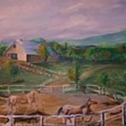 Gettysburg Farm Poster