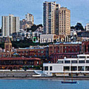 Ghirardelli Square Poster
