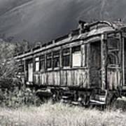 Ghost Passenger Train Coach Poster