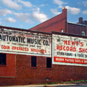 Ghost Sign. Clarksville Tennessee  Poster