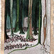 Ghost Stories Forest Graveyard By Jrr Poster