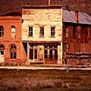 Ghost Town Bodie California Poster