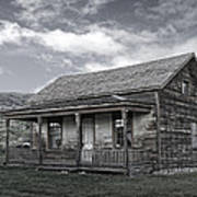Ghost Town Homestead - Montana Poster
