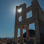Ghost Town - Rhyolite Poster
