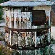 Ghost Town Water Tank Poster