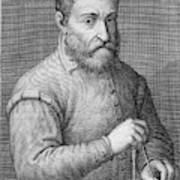 Giacomo Barozzi Da Vignola (1507-1573) Poster