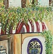 Gianni's Bistro Poster by Eloise Schneider