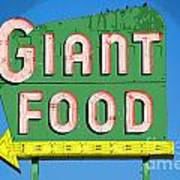 Giant Food Poster