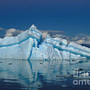 Giant Ice Floes Poster