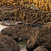 Giants Causeway, Antrim Coast, Northern Poster