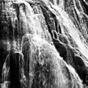 Gibbon Falls Poster by Bill Gallagher