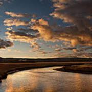 Gibbon River Yellowstone Poster