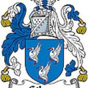Gibson Coat Of Arms Irish Poster
