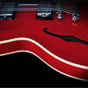Gibson Es-335 Electric Guitar Poster