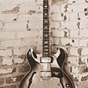 Gibson In Sepia Poster