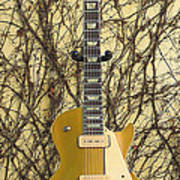 Gibson Les Paul Gold Top '56 Guitar Poster