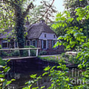 Giethoorn Thatch Poster