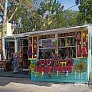 Gift Shop In Key West Poster