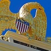 Gilded Eagle Poster