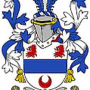 Gilligan Coat Of Arms Irish Poster