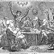 Gillray: Tavern, 1801 Poster