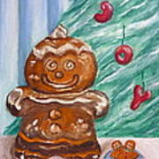 Gingerbread Cookies Poster