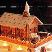 Gingerbread House, Traditional Poster