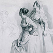 Girl Studies  1839 Poster