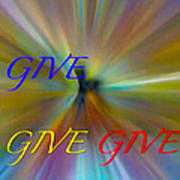 Give Give Give Poster
