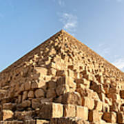 Giza Pyramid Detail Poster by Jane Rix