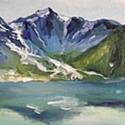 Glacial Lake Poster