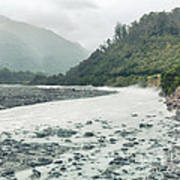 Glacial River Poster