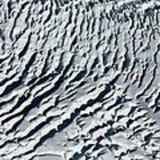 Glacier Abstract Poster