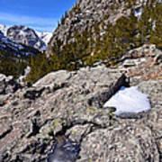 Glacier Gorge Ahead Poster