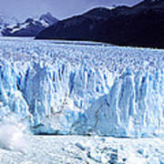 Glacier, Moreno Glacier, Argentine Poster
