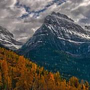 Glacier National Park Big Bend Poster