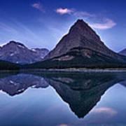 Glacier Park Reflection Poster by Andrew Soundarajan