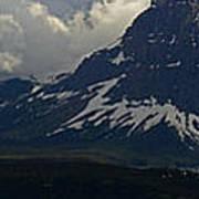Glacier Storm Brewing Poster