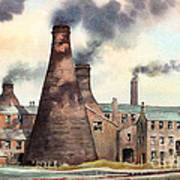 Gladstone Pottery Works Poster