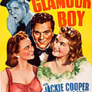 Glamour Boy, Top Jackie Cooper, Bottom Poster